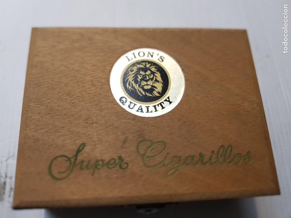 Cajas de Puros: Caja Puros Súper Cigarrillos Lions Quality en caja original Completa - Foto 3 - 240485020