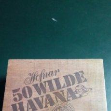 Cajas de Puros: CAJA DE 50 PUROS HOFNAR WILDE HAVANA. Lote 241247370