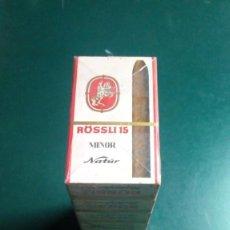 Cajas de Puros: CARTÓN DE PAQUETES DE PURITOS ROSSLI15. Lote 242007115