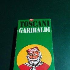 Cajas de Puros: 2 CAJETILLAS PUROS TOSCANI GARIBALDI. Lote 242008640