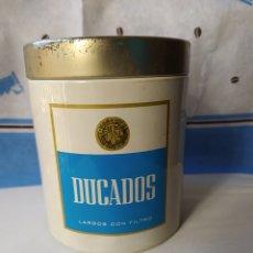 Cajas de Puros: DUCADOS- LATA DE METAL DE 100 CIGARRILLOS METALINA S. A.. Lote 242887755