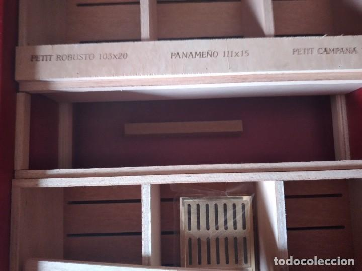 Cajas de Puros: Humificador de puros bucanero nicaragua esteli,hecho a mano,con el nombre de los puros, - Foto 14 - 244426575