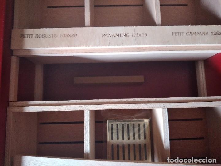 Cajas de Puros: Humificador de puros bucanero nicaragua esteli,hecho a mano,con el nombre de los puros, - Foto 15 - 244426575