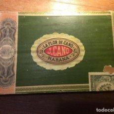 Cajas de Puros: CAJA DE PUROS. HABANA LA FROR DE CANO J.CANO. Lote 244599245