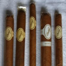 Cajas de Puros: 5 PUROS VARIOS DAVIDOFF. Lote 244612000