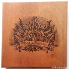 Cajas de Puros: CAJA VACÍA DE MADERA FLOR DE BESANA - 10 CIGARROS DOBLE CORONA HECHO A MANO HAND MADE. Lote 245559885