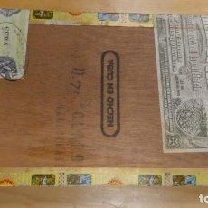 Cajas de Puros: ANTIGUA CAJA DE PUROS VACIA ROMEO Y JULIETA . HABANA .. Lote 245780560