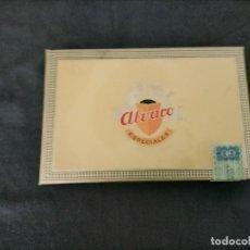 Cajas de Puros: CAJA DON ALVARO ESPECIALES COMPLETA VER FOTOS. Lote 245909740