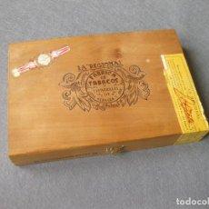 Cajas de Puros: CAJA CON 12 PUROS DE LA FÁBRICA DE TABACOS Y CIGARRILLOS DE JOSÉ HERRERA LA REGIONAL. LAS PALMAS. Lote 246136030