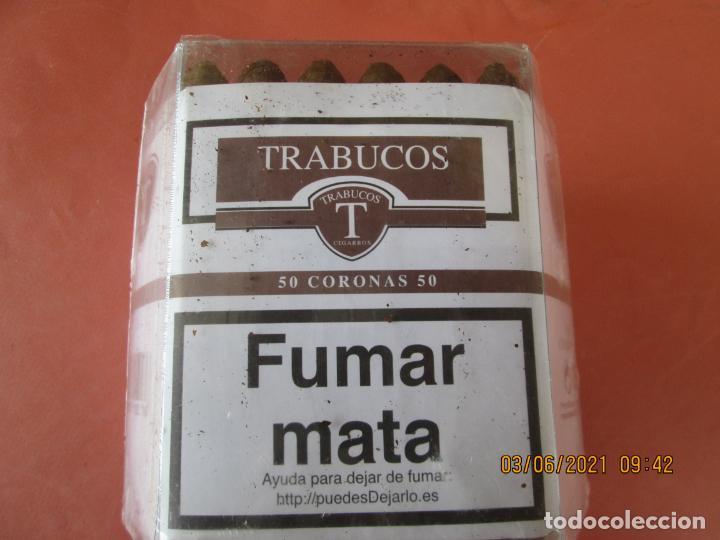 Cajas de Puros: PUROS TRABUCOS - 50 CORONAS PRECINTADOS - Foto 4 - 246154390