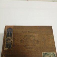 Cajas de Puros: CAJA DE PUROS TROYA. VACÍA. Lote 247593920