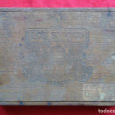 Cajas de Puros: ANTIGUA CAJA DE PUROS, LOS STATOS - 25 CARAMELOS, TABACOS FINOS... CON LA MEJOR HOJA DE VUELTA ABAJO. Lote 247623500
