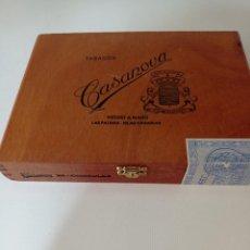 Cajas de Puros: CAJA DE 25 PUROS CÓNSULES CASABLANCA SIN ABRIR PRECINTADA. Lote 249097850
