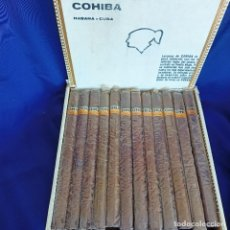 Boîtes de Cigares: CAJA COHIBA CON 25 LANCEROS HABANOS PUROS HABANA CUBA. Lote 249286755