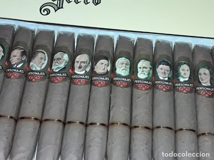 Cajas de Puros: Caja de puros personajes El Greco con 20 puros Cigarros Islas Canarias - Foto 4 - 252537015