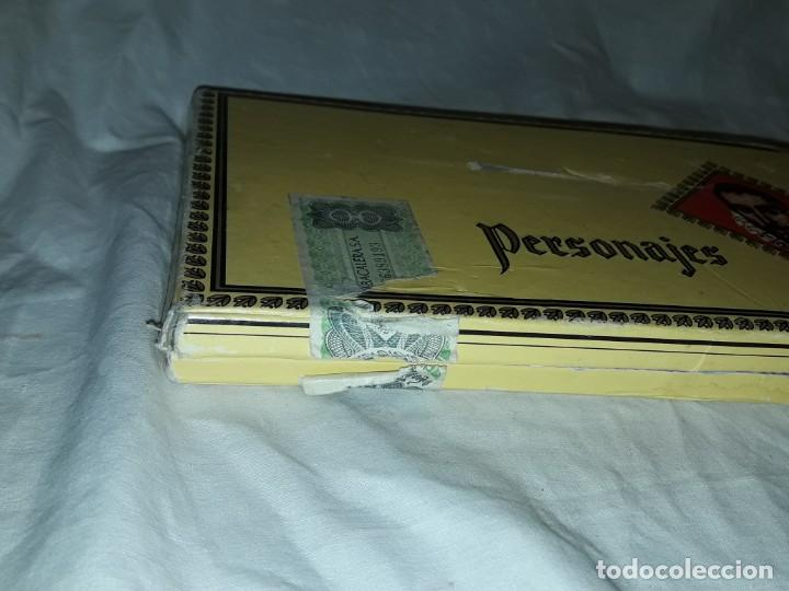 Cajas de Puros: Caja de puros personajes El Greco con 20 puros Cigarros Islas Canarias - Foto 8 - 252537015