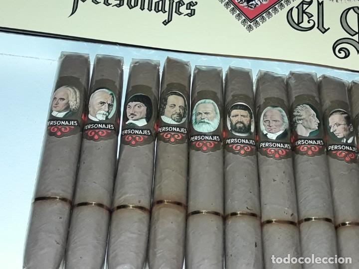 Cajas de Puros: Caja de puros personajes El Greco con 20 puros Cigarros Islas Canarias - Foto 9 - 252537015