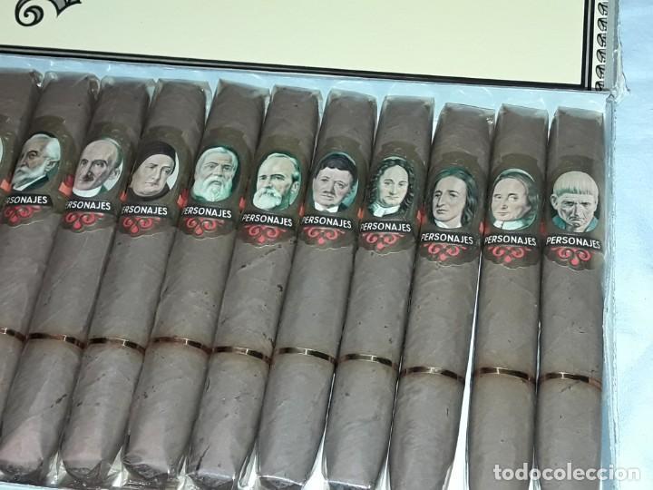 Cajas de Puros: Caja de puros personajes El Greco con 20 puros Cigarros Islas Canarias - Foto 11 - 252537015
