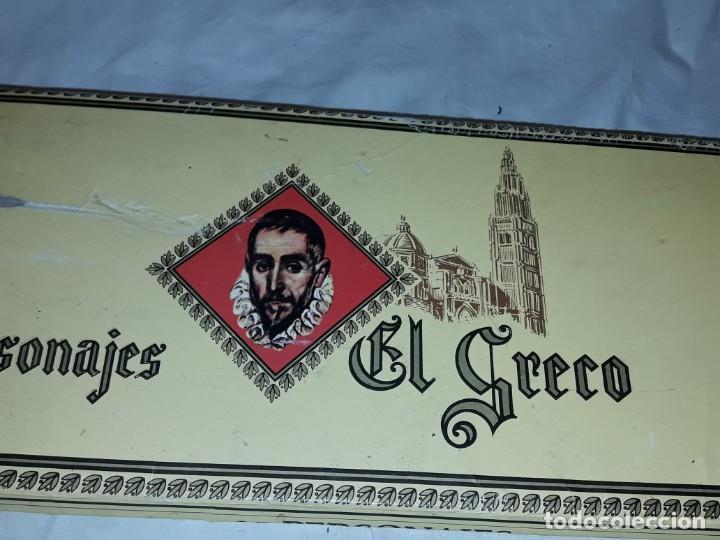 Cajas de Puros: Caja de puros personajes El Greco con 20 puros Cigarros Islas Canarias - Foto 12 - 252537015