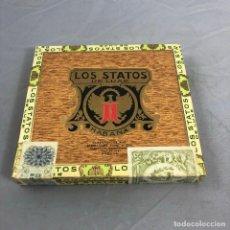 Scatole di Sigari: CAJA DE PUROS, LOS STATOS DE LUXE, HABANA MARTINEZ HNO, PRECINTADA SIN ABRIR. 10 SELECTOS, CUBA. Lote 253354835