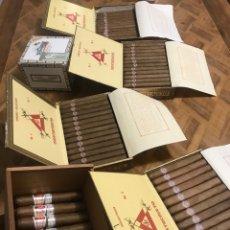 Cajas de Puros: 137 PUROS CUBANOS NO 4, NO 3, EPICURE NO 2, 25 QUINTERO PETIT ROBUSTOS, CAJA PUROS 137 PUROS. Lote 254077070