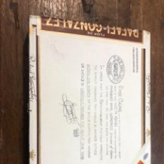 Cajas de Puros: CAJA PUROS RAFAEL GONZÁLEZ CON 21 PUROS. Lote 254128060
