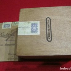 Caixas de Charutos: DAVIDOFF, CUBA, CAJA DE PURITOS DE MADERA. Lote 254137100