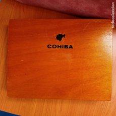 Boîtes de Cigares: CAJA DE PUROS COHIBA ESPLENDIDOS HABANOS VACIA. Lote 254380215
