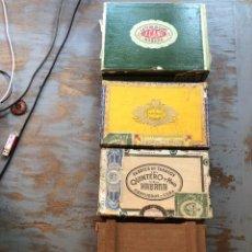 Cajas de Puros: CAJAS DE PUROS ANTIGUAS HABANA. Lote 254557190