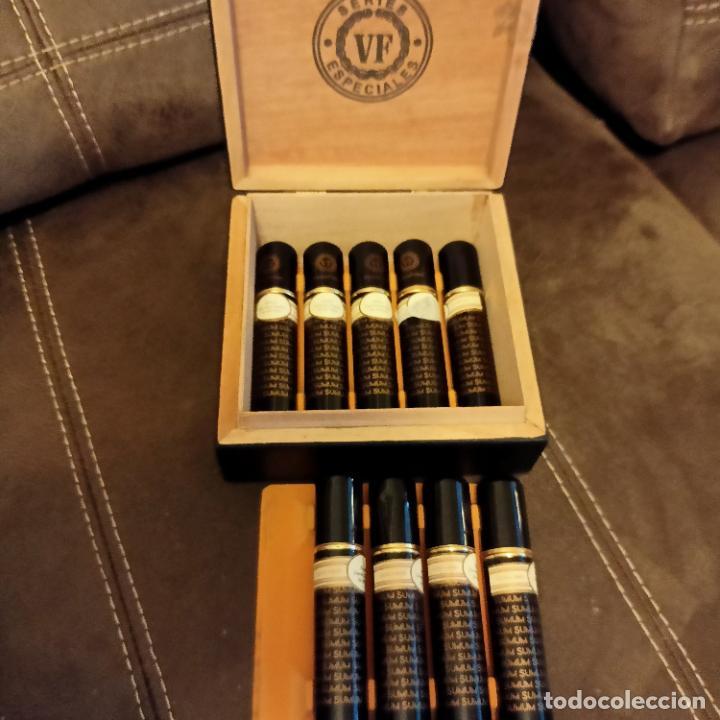Cajas de Puros: Caja con 9 puros sumum vegafina edición especial 2009 - Foto 3 - 258793825