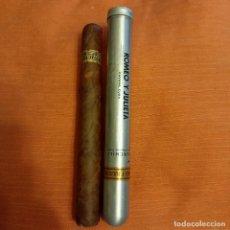 Boîtes de Cigares: ANTIGUO PURO ROMEO Y JULIETA, CHURCHILL, HAVANA CUBA. 18 CM APROXIMADAMENTE. Lote 258795175