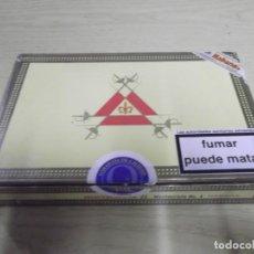 Cajas de Puros: CAJA DE PUROS MONTECRISTO HABANA Nº4.VACIA. Lote 258984840