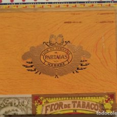 Scatole di Sigari: ANTIGUA CAJA DE PUROS HABANOS PARTAGAS 25 PERSONALES (12 UNIDADES). Lote 260024340
