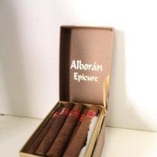 Cajas de Puros: CAJA DE PUROS ALBORAN EPICURE (25) -. Lote 260307520