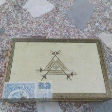 Scatole di Sigari: CAJA LLENA DE PUROS MONTECRISTO CABINET SELECTION N 4. Lote 260730905