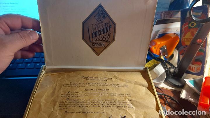 Cajas de Puros: CAJA DE PUROS VACIA DE CARTON DURO DE CIGARROS VENCEDOR - Foto 2 - 260768350