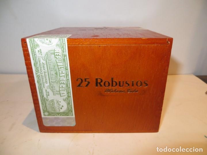 CAJA PUROS COHIBA CON 25 ROBUSTOS PRECINTADA NUNCA ABIERTA (Coleccionismo - Objetos para Fumar - Cajas de Puros)