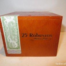Cajas de Puros: CAJA PUROS COHIBA CON 25 ROBUSTOS PRECINTADA NUNCA ABIERTA. Lote 262106410