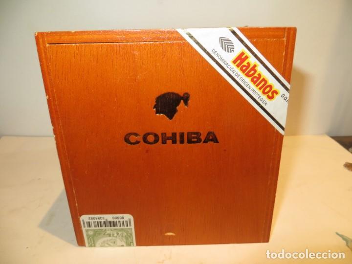Cajas de Puros: CAJA PUROS COHIBA CON 25 ROBUSTOS PRECINTADA NUNCA ABIERTA - Foto 2 - 262106410
