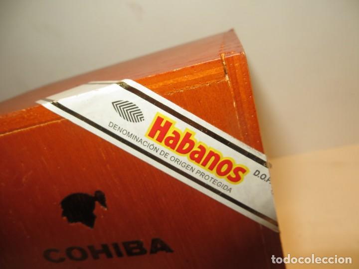 Cajas de Puros: CAJA PUROS COHIBA CON 25 ROBUSTOS PRECINTADA NUNCA ABIERTA - Foto 3 - 262106410