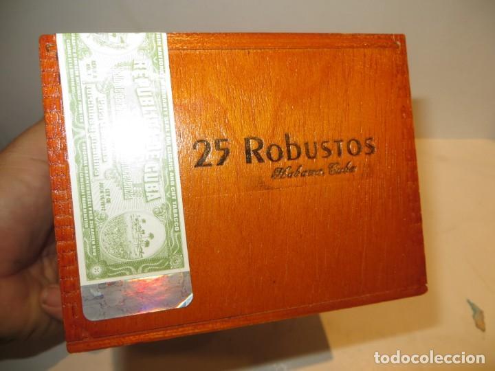 Cajas de Puros: CAJA PUROS COHIBA CON 25 ROBUSTOS PRECINTADA NUNCA ABIERTA - Foto 5 - 262106410