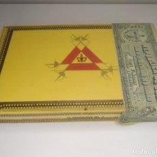 Cajas de Puros: CAJA MONTECRISTO N 4 ANTIGUA PUROS HABANOS. PRECINTADA.. Lote 278841658