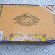 Cajas de Puros: CAJA PUROS , PARTAGAS 25 MILLE FLEURS.. Lote 262907425