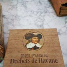 Cajas de Puros: CAJA VACÍO PUROS BELFUMA DECHETS DE HAVANE. Lote 263211310
