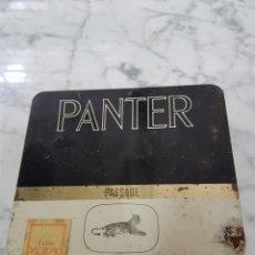 Cajas de Puros: CAJA VACIA TABACO PANTER. Lote 263211610