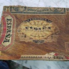 Cajas de Puros: CAJA VACIA PUROS LA RENTA DE TABACOS DE ESPAÑA. Lote 263211810