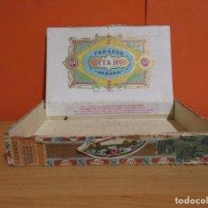 Cajas de Puros: LA HABANA PITA HNOS. ANTIGUA CAJA DE PUROS VER IMAGENES DETALLADAS. Lote 263785915