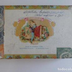 Cajas de Puros: CAJA DE PUROS HABANOS ROMEO Y JULIETA 25 AGUILAS VACIA. Lote 295544453