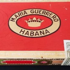 Boîtes de Cigares: CAJA DE PUROS MARÍA GUERRERO 25 FAVORITAS EN CEDRO 1974 CERRADA NEVER OPEN. Lote 267065914