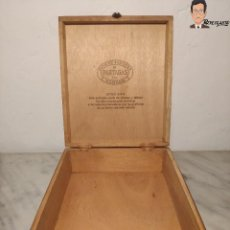Cajas de Puros: CAJA DE PUROS PARTAGAS ESTILO 8-9-8 (VACÍA) MADERA - FLOR DE TABACOS DE PARTAGAS Y Cª. HABANA. Lote 268611734